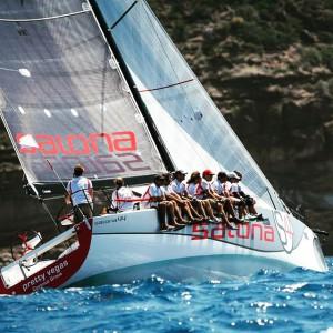 Salona Yachts 44 Pretty Vegas #salonacharter #salonayachts #cruiseracer #sailinganarchy #seileren  #salona44 #blursailing #sailinganarchy #sailing #sailingstagram #sailchecker #stbarths #yachtracing