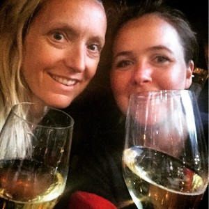 Disse to har bestått ICC i dag! Hipp hipp ???? #Seileren #Champagne #Fortjent #letsgosailing