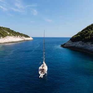 Seilkurs i Kroatia 50 fot